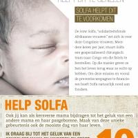 campagne ' veilig bevallen' : flyers via babyboxen in Belgische materniteiten